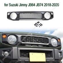 Trước Nướng Dành Cho Xe Suzuki Jimny JB64 JB74 2018 2020 Đen/Bạc ABS Trước Ô Tô Đua Lưới Tổ Ong Dạng Lưới Tản Nhiệt phụ Kiện