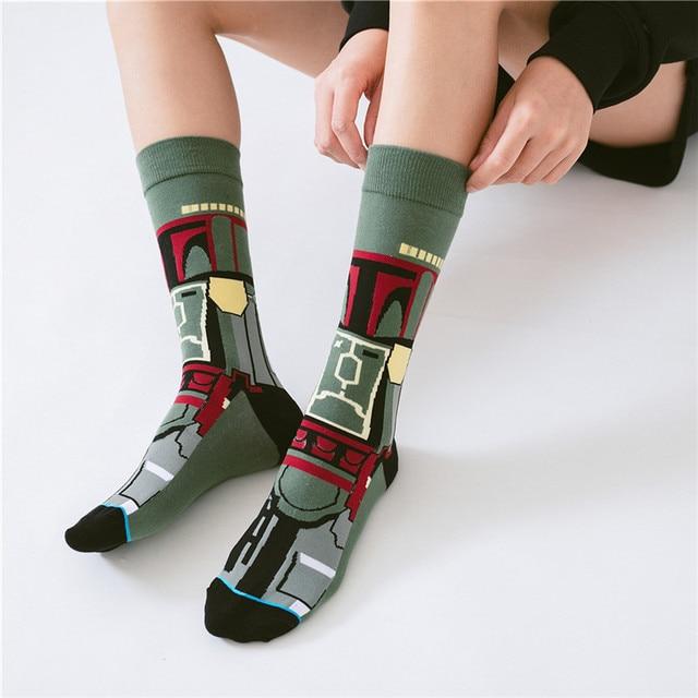 Star Wars Movie Stockings Master Yoda R2-D2 Cosplay Socks 5