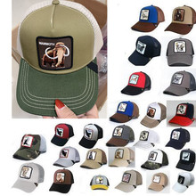 Hats Sunshade Baseball-Cap Mesh Embroidery Truck Anime Outdoor Summer Driver Ms. Men's