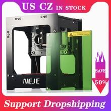 NEJE DK-8-KZ maszyna do grawerowania laserowego CNC 1500/2000/3000mW DIY automatyczna frezarka do drewna CNC grawer laserowy maszyna do cięcia