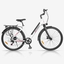700c rower elektryczny zasilany Li-ion rower sportowy Urban ebike damska łabędź rama rowerowa podmiejska podróż rower elektryczny