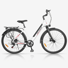 700c Electrical Bike Li-ion Powered Sports activities Bike City ebike Ladies's swan body bicycle commuter journey electrical bicycle