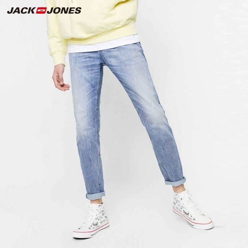 JackJones Men's New Arrival Acore Skin-friendly Slim Fit Jeans Menswear| 219332559