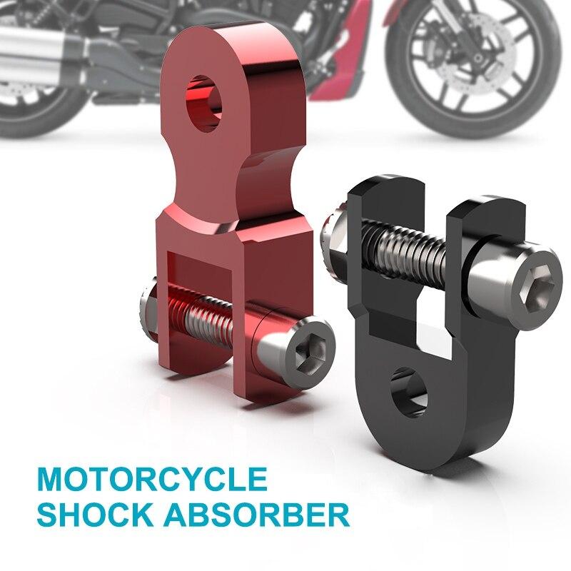 2 قطعة دراجة نارية سبيكة امتصاص الصدمات ارتفاع تمديد موسع تعليق الناهض