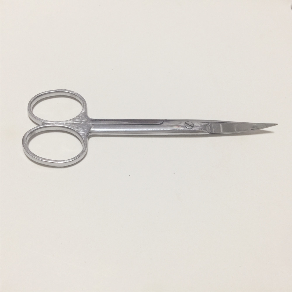 Stainless Steel Surgical Scissors Laboratory Medical Household Tissue Scissors Curved tip For Practice Using 12.5/14/16/18/20 cm
