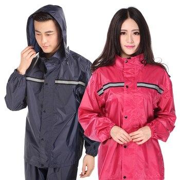 Waterproof Nylon Jacket Raincoat Women Set Ladies Hooded Raincoat Lightweight Stylish Outdoor Regenpak Dames Rainwear JJ60YY