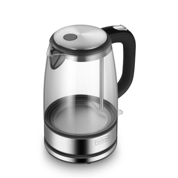 TOPCREATING DK450 1.7L/1800W Stainless Steel Glass Electric Water Kettle Temperature Color Light Display Electric Kettle фото