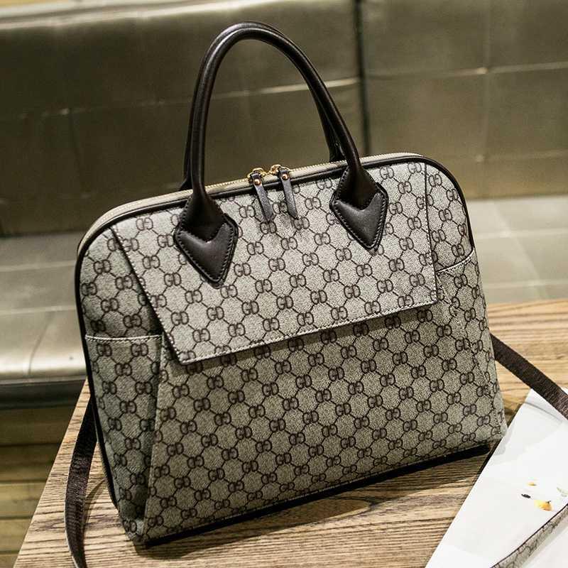 Женский кожаный портфель, бизнес компьютер, сумки через плечо, Офисные Сумки 13 14 дюймов, чехол для ноутбука для путешествий, сумка для женщин