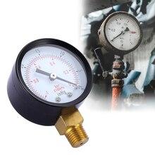цена на Vacuum Manometer Portable Dual Scale Dial Gauge 1/4