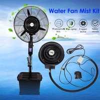 Ar Condicionado portátil Ventilador Da Névoa Da Névoa Da Água Sistema de Peças Principal Da Máquina de Atomização Centrífuga Ventilador de Ar Mais Frio Ao Ar Livre AC220 240V|Vent.| |  -