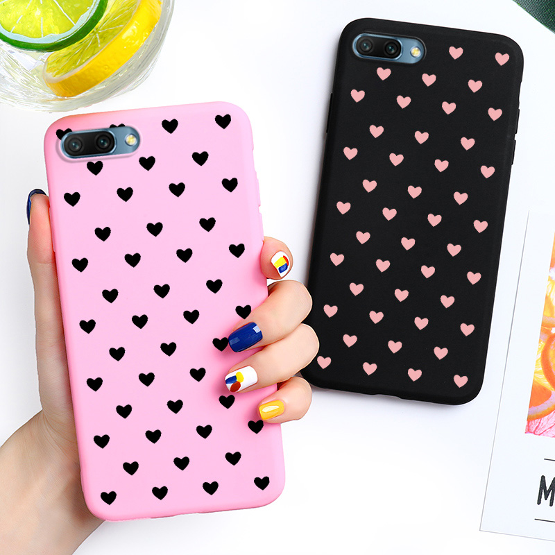 20 Cute TPU Case For huawei honor 20 9 10 lite 8X Silicone Ultra Thin Cover for huawei P20 P30 P8 lite 2017 Y5 Y6 prime 2018 Cases (4)