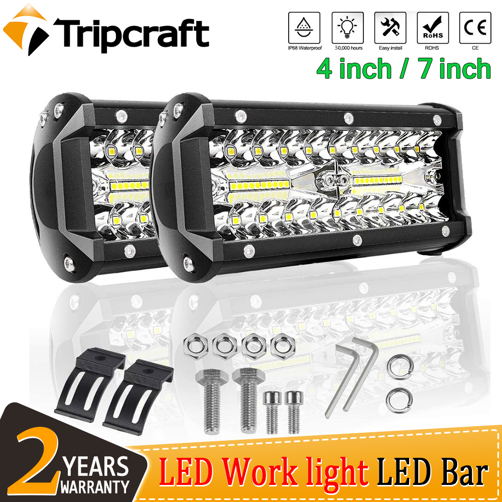 32inch Led Light Bar 180W SPOT Beam Lamp car Boat 4X4WD Offroad ATV 12V24V 30/""