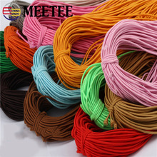 70Meters 1.5mm Eco-Friendly Round Rubber Elastic Cord Stretch Bands Rope Jewelry Bracelets Making Garment Tag DIY Craft
