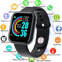 Sport Watch Smart Watch Men Women Blood Pressure Smartwatch Waterproof Whatsapp Reminder Activity Tracker Clock For Android IOS