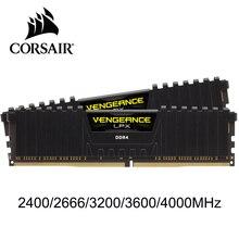 Mémoire RAM CORSAIR Vengeance LPX 4GB 8GB 16GB 32GB DDR4 PC4 2400Mhz 2666Mhz 3000Mhz 3200Mhz Module PC de bureau mémoire RAM DIMM
