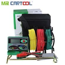 Mr Cartool DY4100 Digital Widerstand Tester Erde Boden Meter Multimeter mit Höher Genauigkeit Power Systeme Inspection Tool