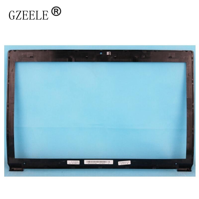 GZEELE NEW For Lenovo B590 B595 LCD Front Bezel Cover LCD Screen Display Lcd Front Bezel Cover