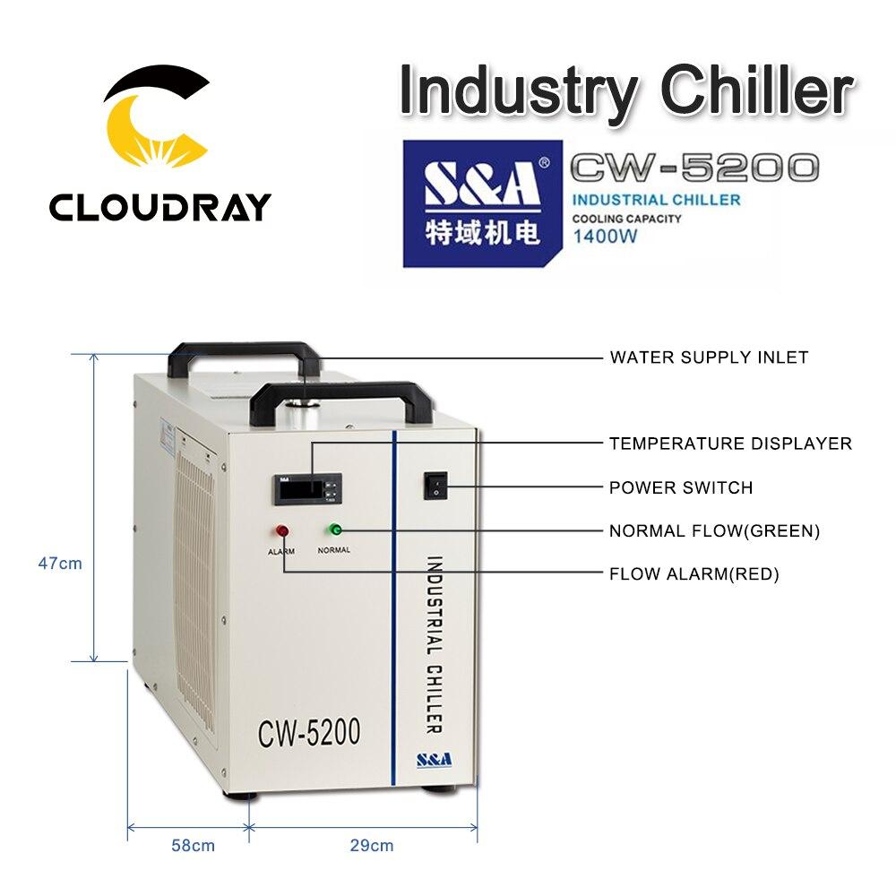 CW5202 CO2 Cloudray ワットレーザーチューブ