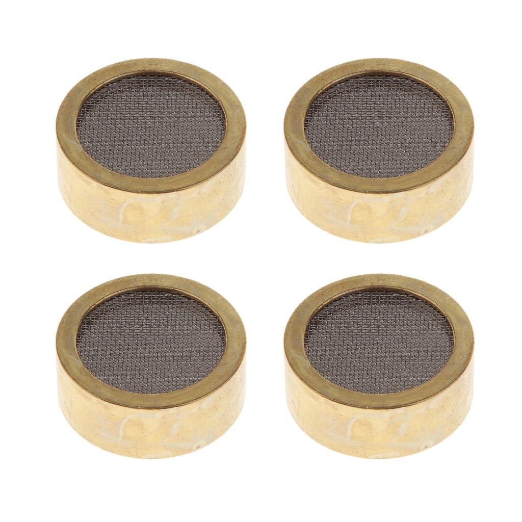 4pcs Large Diaphragm Microphone Cartridge Core Recording Condenser Capsule