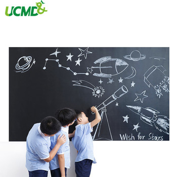 100x60CM Vinyl Chalkboard Children painting Graffiti Learning Removable Blackboard Decals sticker Home Office Message Memo Board this week erasable blackboard chalkboard weekly calendar planner memo vinyl wall decal sticker 58x84cm