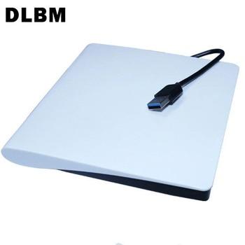 цена на DLBM Portable USB 3.0 DVD-RW External DVD Drive DVD Player Burner Writer Ultra Slim DVD ROM Player for Linux Windows Mac OS
