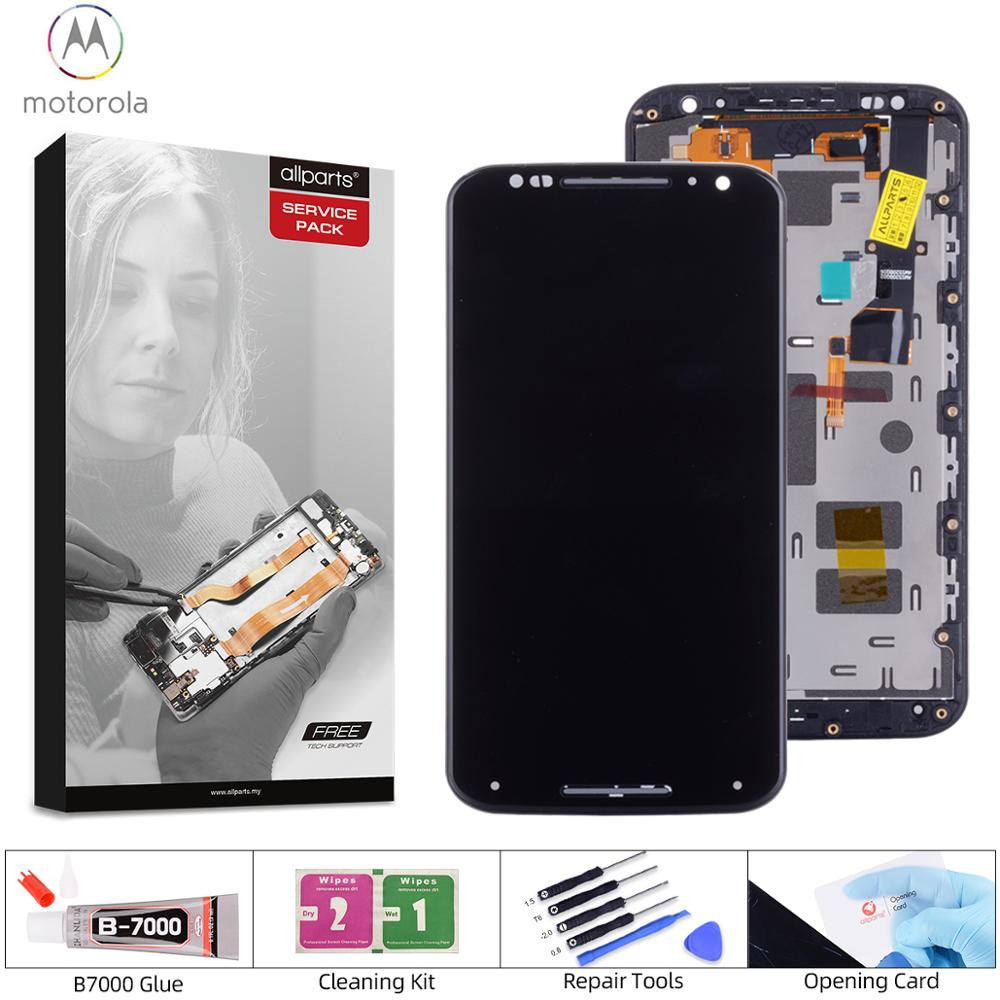Display For Motorola Moto X2 LCD Display LCD Screen for Motorola x2 x 1 xt1096 xt1097 with Touch Screen Digitize Xt1092 Xt1095