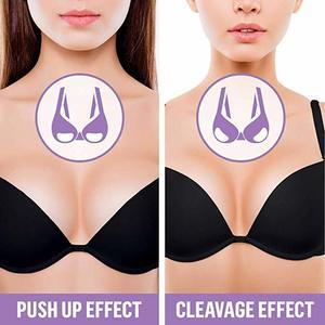 Image 4 - Halyuhn 1 Paar Siliconen Zelfklevende Beha Pads Borst Inserts Ademend Push Up Sticky Beha Cups voor Zwemkleding & Bikini