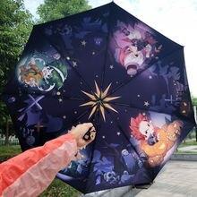 Зонт аниме Моя геройская Академия Аниме складной зонт автомат