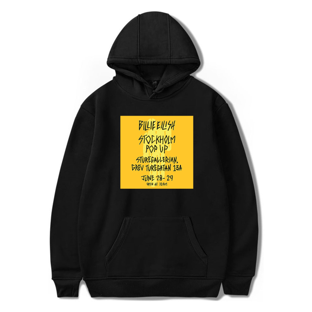 BILLIE EILISH THEMED HOODIE (21 VARIAN)