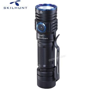 Image 2 - Skilhunt lanterna m300 xhp35, alta potência 2000 lúmens edc edição usb magnético recarregável à prova d água led