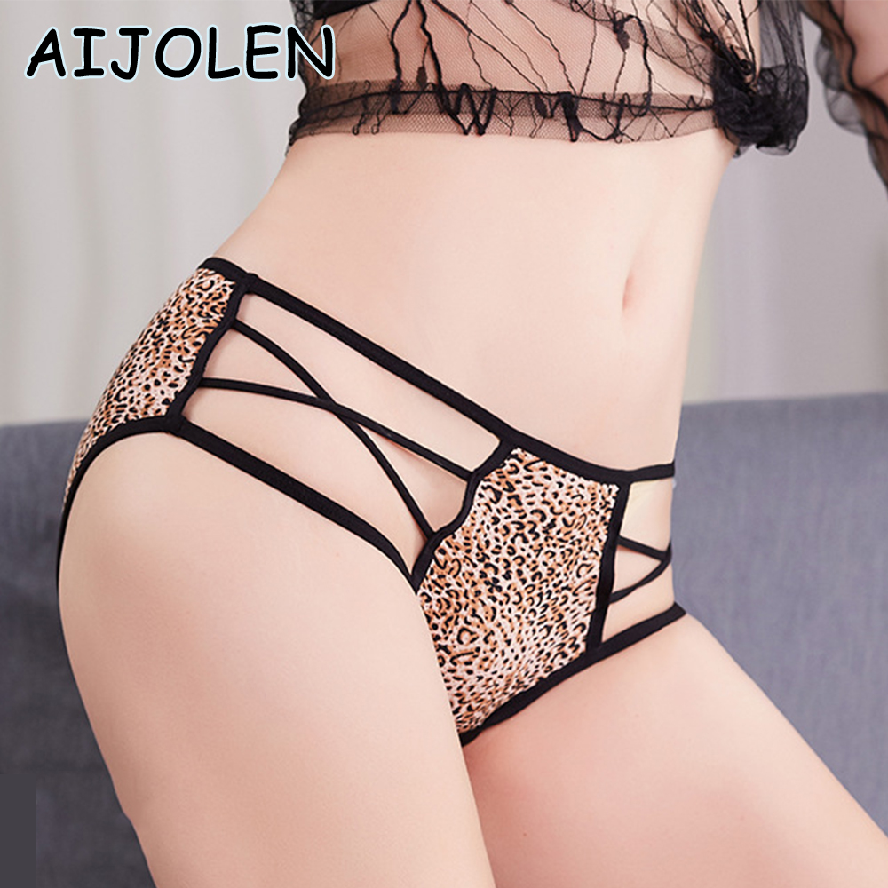 AIJOLEN Sexy Lace Panties Women's Underwear Hollow Band Sexy Underpants Female Lingerie Floral Ladies Thongs G String Panties
