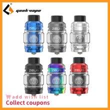 Zeus subohm Vape Geekvape Sub Ohm Tank 2ml/5ml Atomizer Mesh Coil&Prebuilt Coil 810 drip tip vs zeus x fit aegis legend