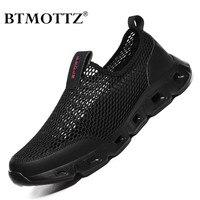 Zapatos informales de malla para hombre y mujer, Zapatillas ligeras para caminar, mocasines transpirables de diseñador para verano