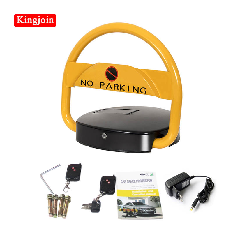 VIP Private Solar Remote Control Parking Space Protector Parking Lock/Rechargeable Recycling