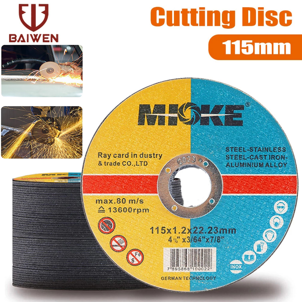 5-50Pcs Metal Cutting Discs 115mm Stainless Steel Cut Off Wheels Flap Sanding Grinding Discs For Angle Grinder Wheels