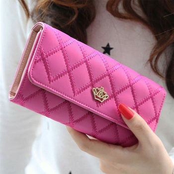 Fashion Women Lady Clutch PU Leather Long Wallet Lady Card Holder Purse Handbag Card Phone Holder Case Clutch Handbag Wallet фото