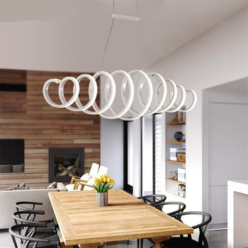 Nordic LED Pendant Lights For Dining Room Kitchen Fixtures Home Bedroom Decor Suspension Hanging Lamp Restaurant Luminaire new modern nordic creative pendant lights hanging lamp for restaurant living room kitchen suspension luminaire lamp fixtures