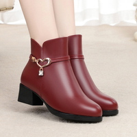 Новинка; женская прогулочная обувь из микрофибры; теплые зимние ботинки; женские ботильоны; женские короткие теплые зимние ботинки; botas