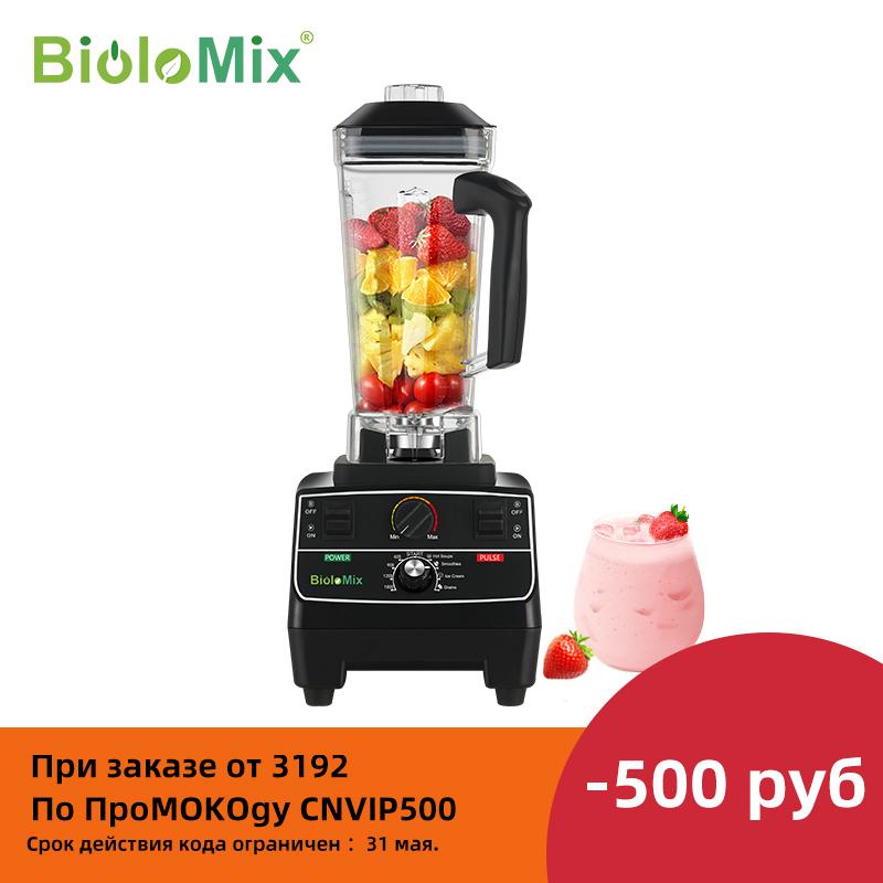 BPA Free 2L Jar 2200W Professional Smart Timer Pre programed Blender Mixer Juicer Food Processor Ice Smoothies Crusher