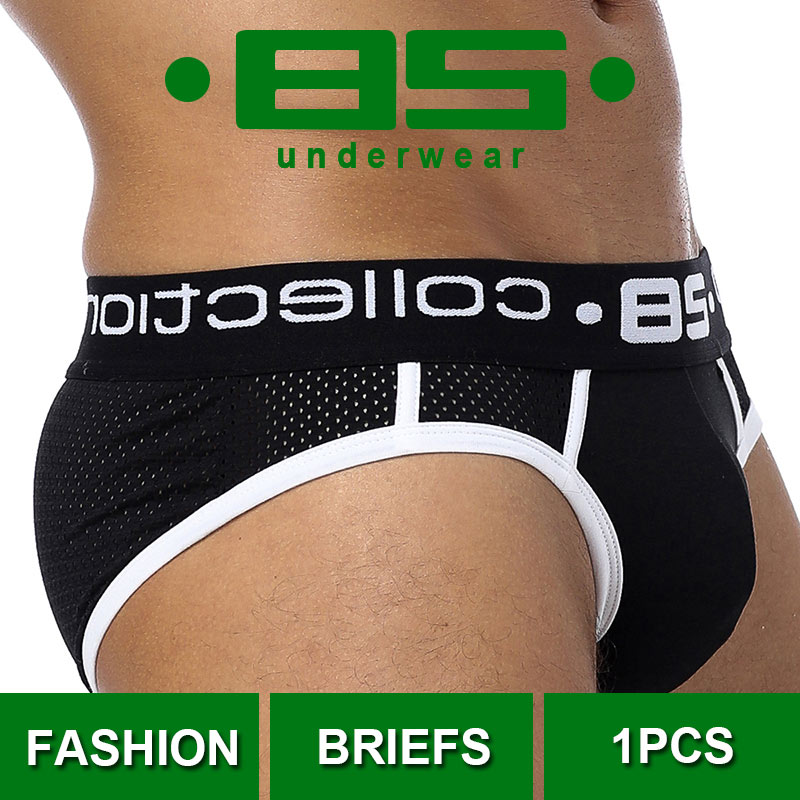 CMENIN Under Wear 85 Sexy Underwear Men Jockstrap Briefs Men Bikini Gay Male Underpants BS107 Slip Jockstrap Bikinis
