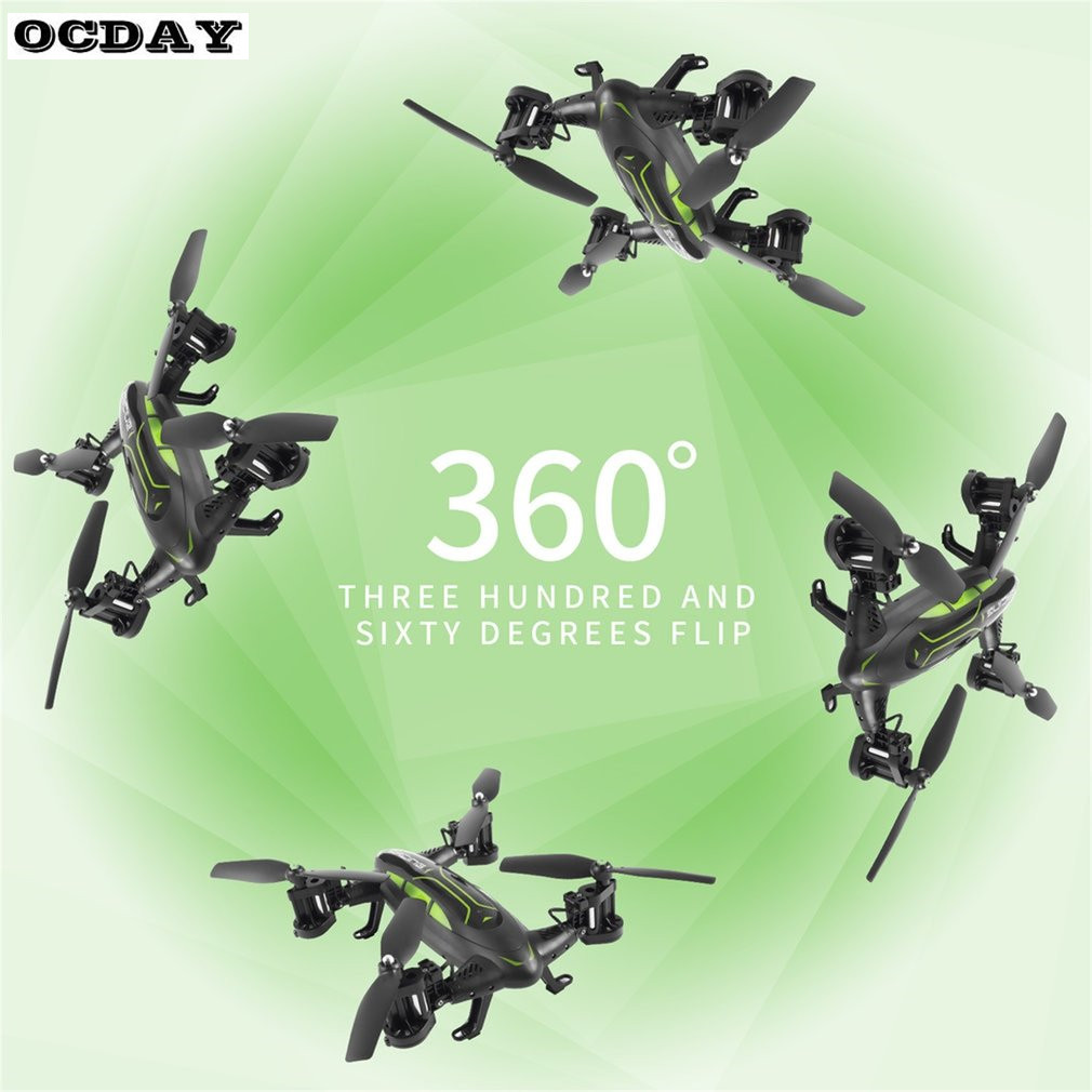 OCDAY Multifunction Mini RC Drone Kit With HD Camera 3