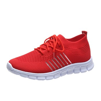 Fashion Women's Sneakers Mesh Casual Lace-up Sport Shoes Women Running Shoes For Men Lovers Breathable Shoes Sneakers 8