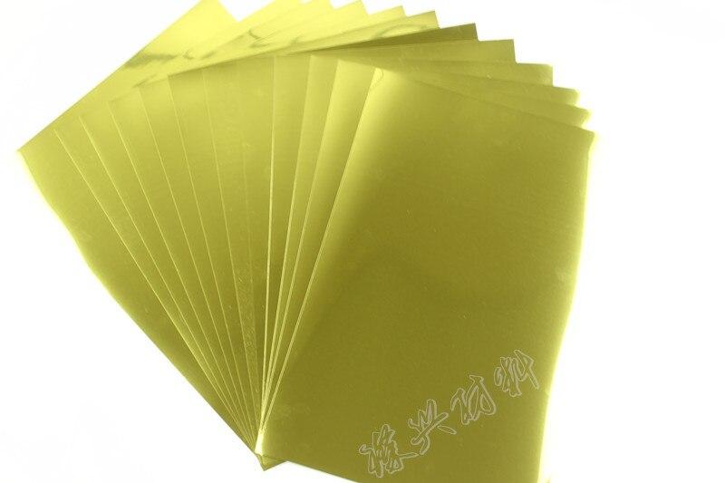 A4 Gum Bright Gold Film, Gum Light Gold Film, To A Mirror Film, Badges, Sign Film