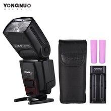Светодиодная лампа для видеосъемки YONGNUO YN560Li Портативный литий-Мощность Вспышка Комплект Speedlite 5600K Беспроводной модуль приемопередатчика Электрический зум Функция