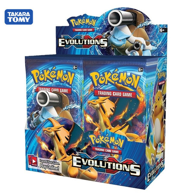 360pcs Pokemon cards All series TCG: Sun & Moon Series Evolutions Booster Box Collectible Trading Card Pokemon  6