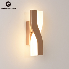 6W Acrylic Modern Led Wall Light 330 degrees adjustable Sonce Wall Lamp Indoor Home Living room Bedroom Dining room Bedside Lamp