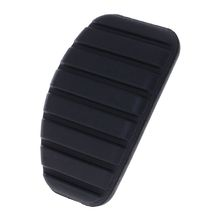 1PC Car Clutch and Brake Pedal Rubber Pad Cover For Renault Megane Laguna Clio Kango Scenic CCY Black