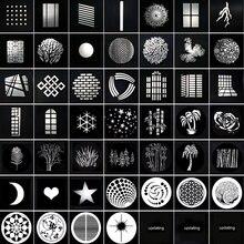 Focalizzare Conico Snoots pellicola della proiezione grafici FAI DA TE forma inserto sfondo effetto di luce Scavato partita di Carta godox flash