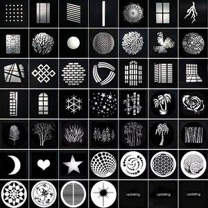Image 1 - Фокусировка конической проекционной пленки Snoots, графическая DIY Форма вставки фона, светильник, эффект выдолбленной карты, совпадение godox flash