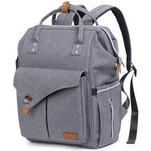 Многофункциональная Ночная Светоотражающая сумка для подгузников через плечо большой объем модная водонепроницаемая сумка для подгузников